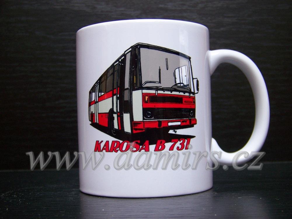hrnek s motivem Karosa B731