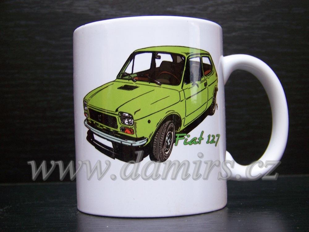 Hrnek s motivem Fiat 127