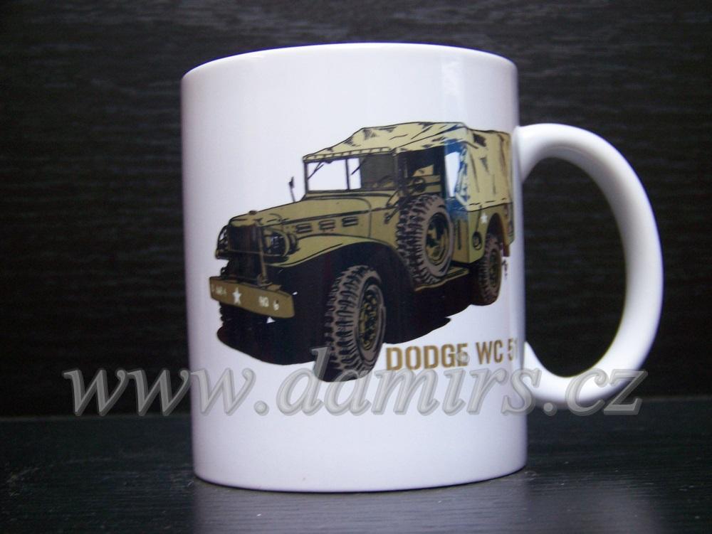 Hrnek s motivem Dodge WC 51