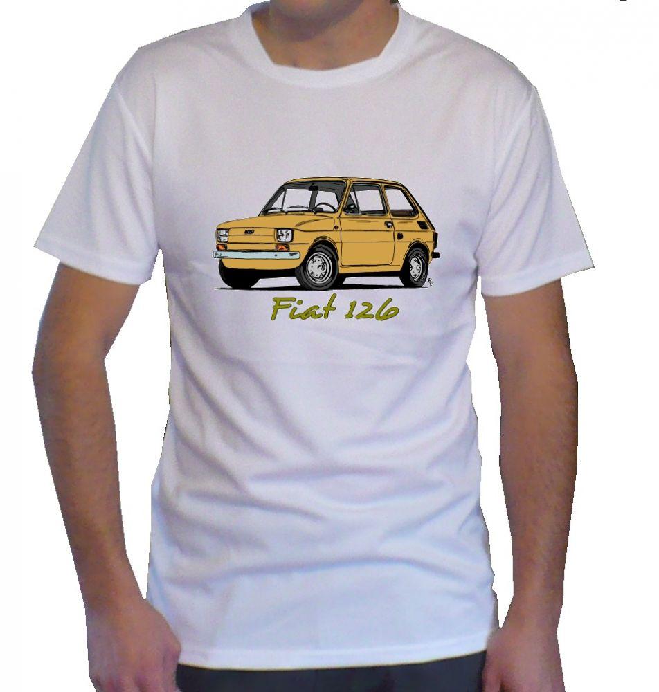 Triko s motivem Fiat 126