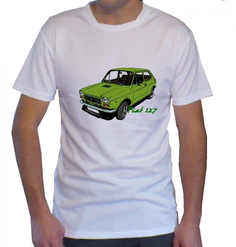 Triko s motivem Fiat 127