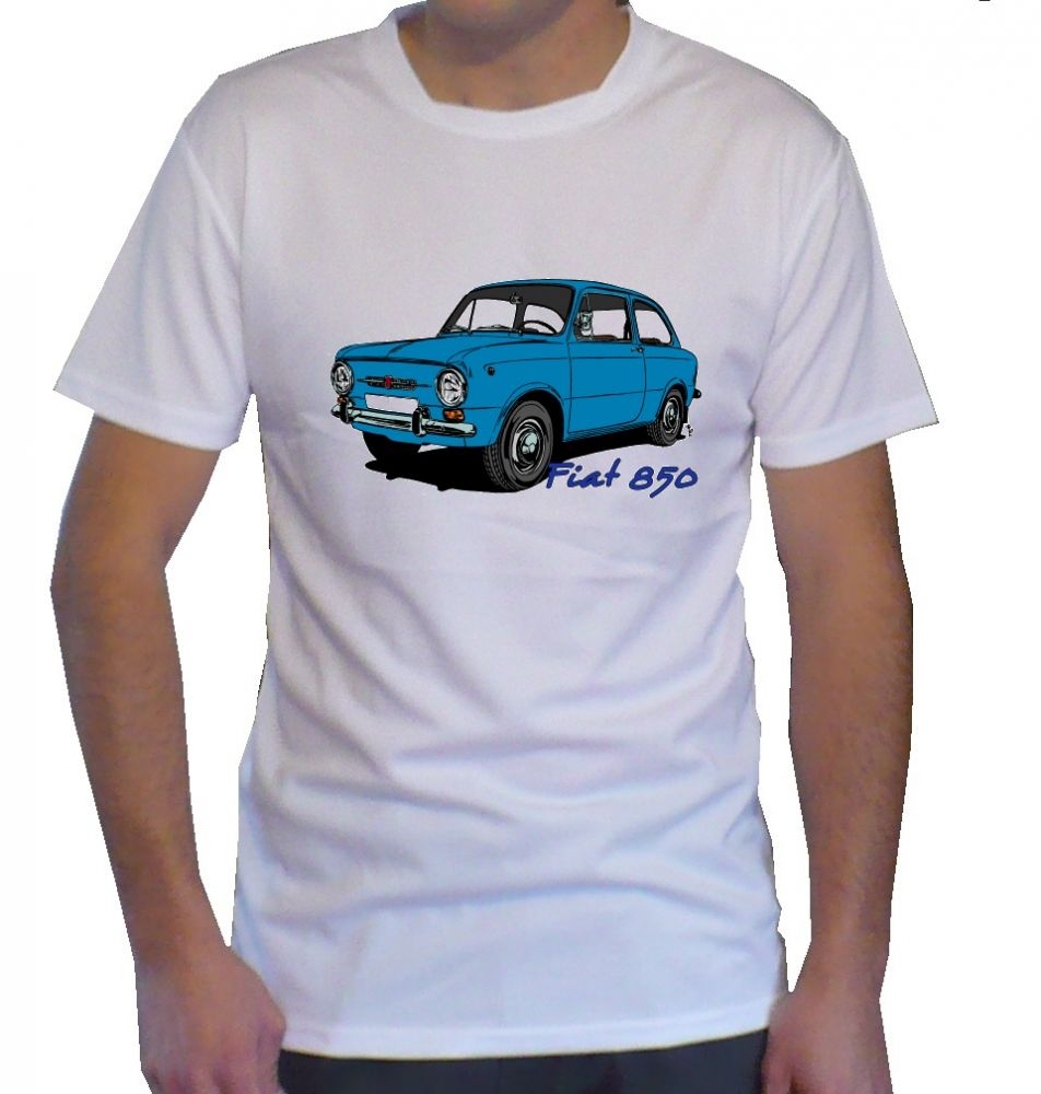 Triko s motivem Fiat 850
