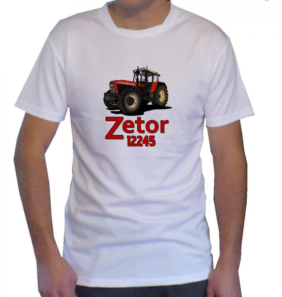 Triko s motivem Zetor 12245