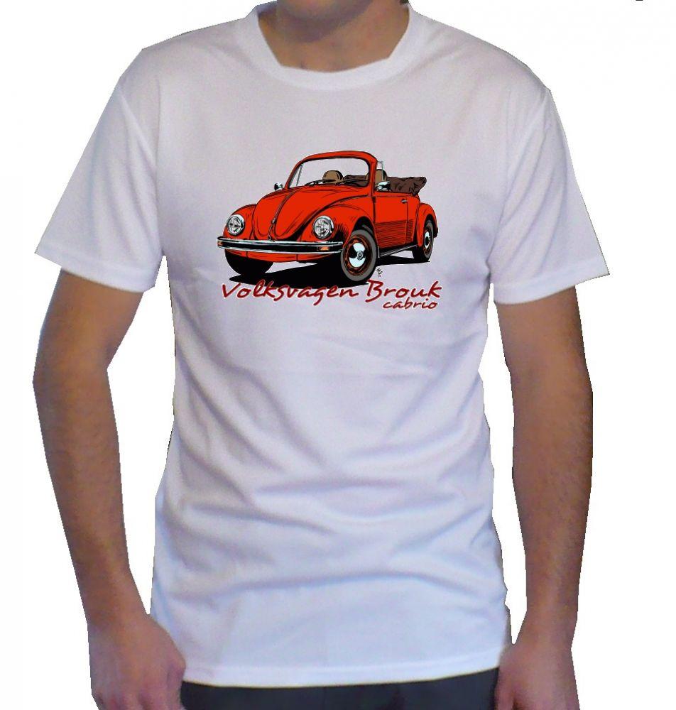Triko s motivem Volkswagen Brouk cabrio
