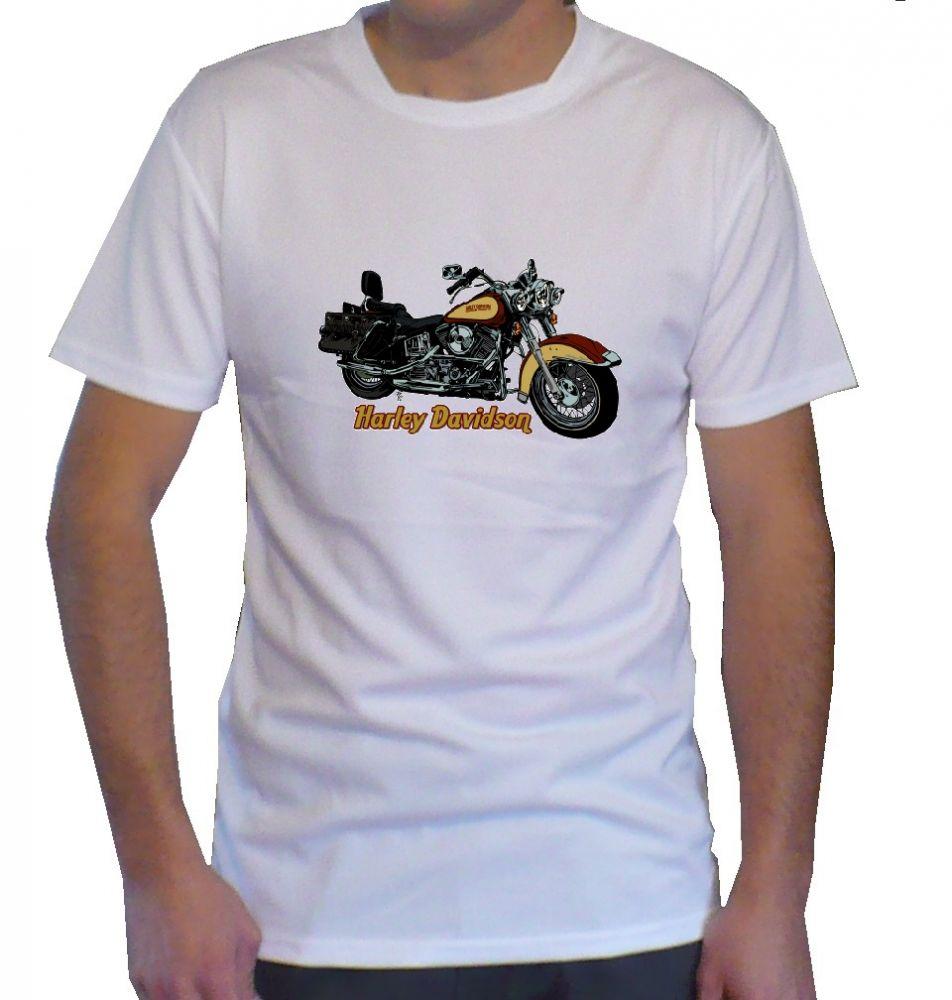 Triko s motivem Harley Davidson