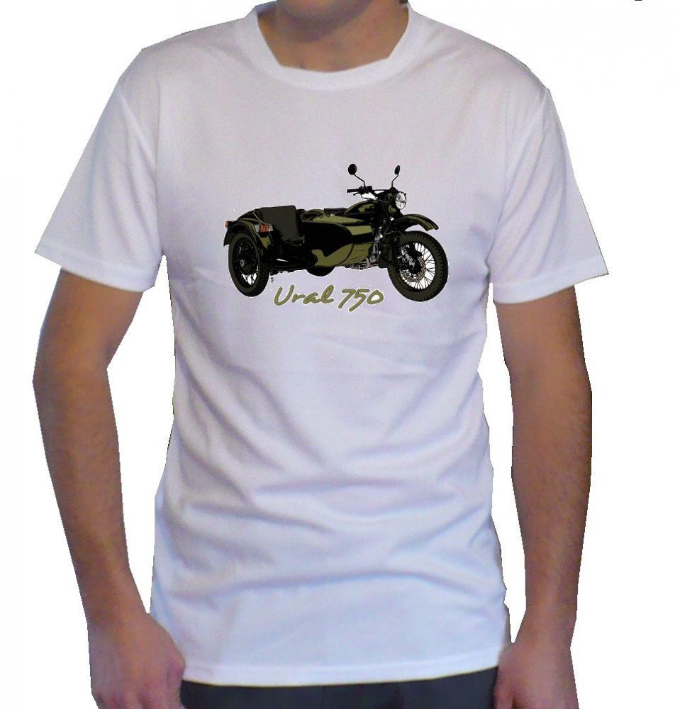 Triko s motivem Ural 750