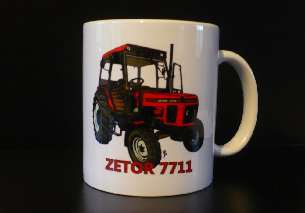Hrnek s motivem Zetor 7711