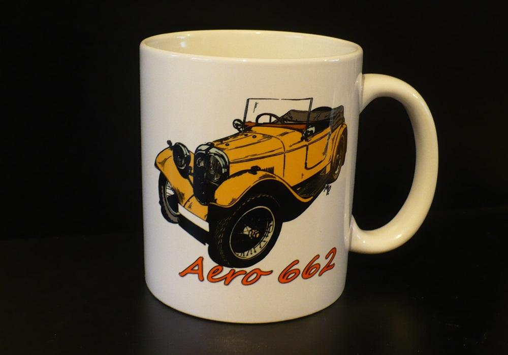 Hrnek s motivem Aero 662