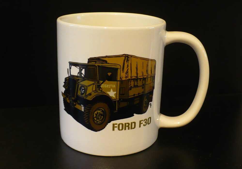Hrnek s motivem Ford F30 Canada