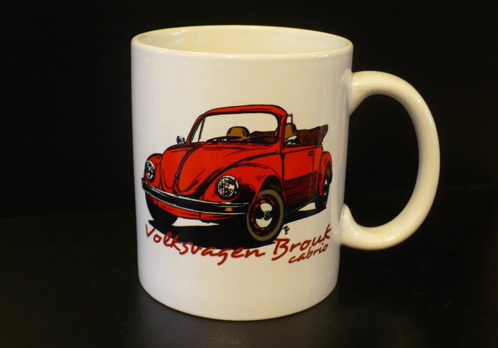 Hrnek s motivem Volkswagen Brouk cabrio