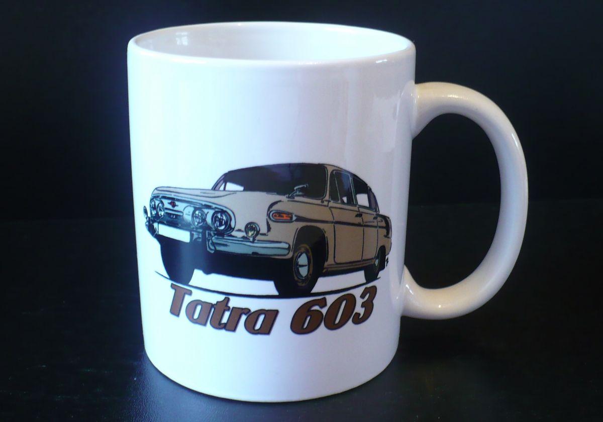 Hrnek s motivem Tatra 603