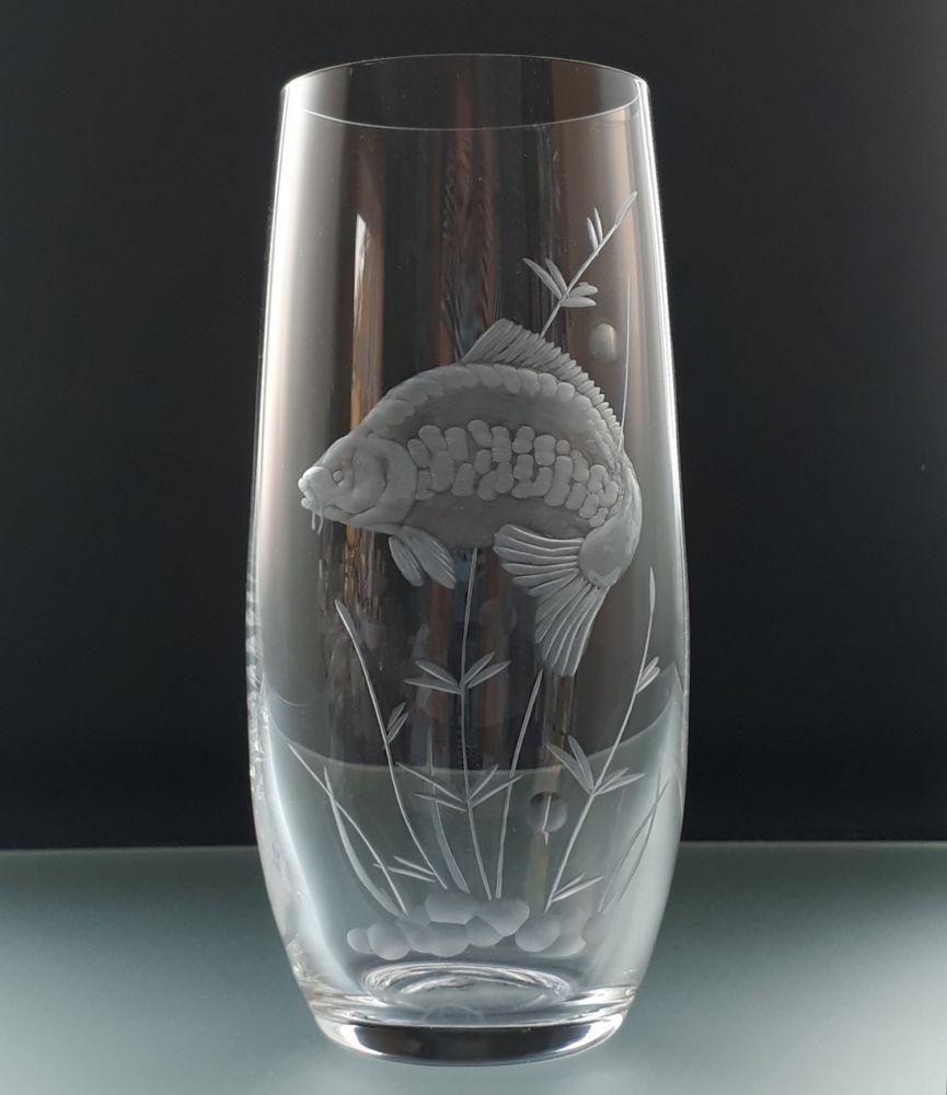 skleničky na pivo 6ks Club 350ml s rytinou ryb, dárek pro myslivce