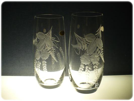 skleničky na pivo 6ks Club 350ml,sklenice ručně ryté (broušené) motiv chmel,dárek pro muže