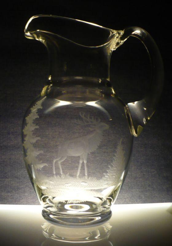 džbán 2,5l s jelen,dárek pro myslivce