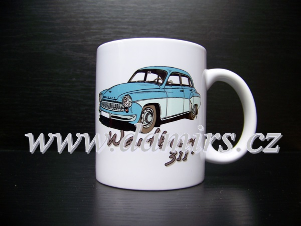 hrnek s motivem Wartburg 311