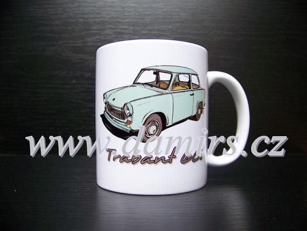 hrnek s motivem Trabant 601