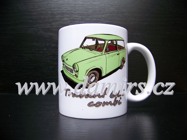 hrnek s motivem Trabant 601 combi