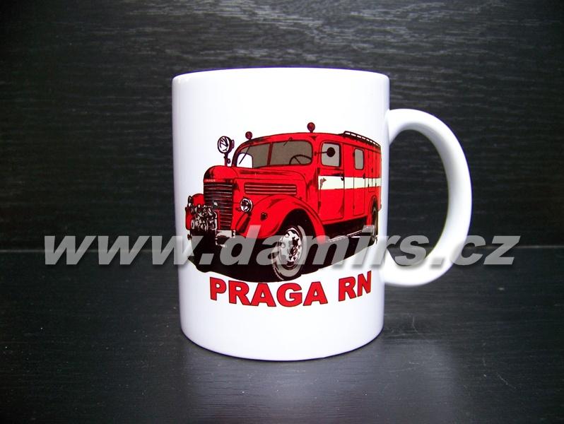 hrnek s motivem hasičská Praga RN skříň