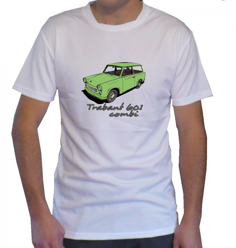 Triko s motivem Trabant 601 combi
