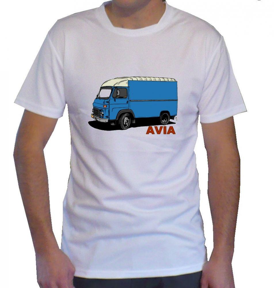 Triko s motivem Avia furgon