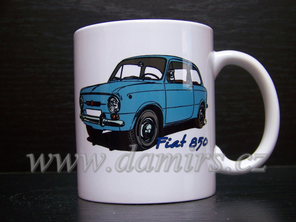 Hrnek s motivem Fiat 850