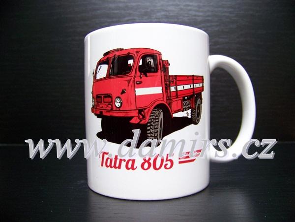 Hrnek s motivem Tatra 805 hasičská
