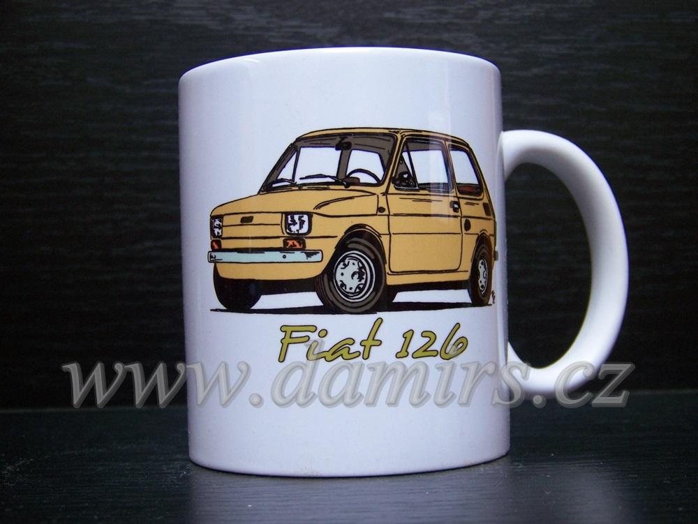 Hrnek s motivem Fiat 126