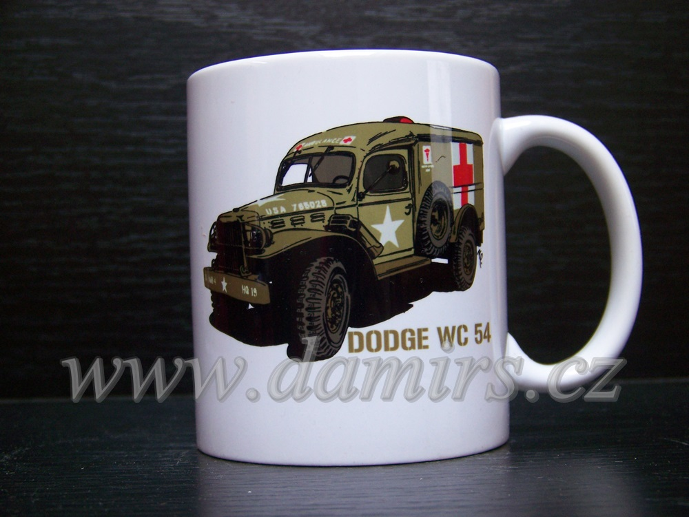 Hrnek s motivem Dodge WC 54