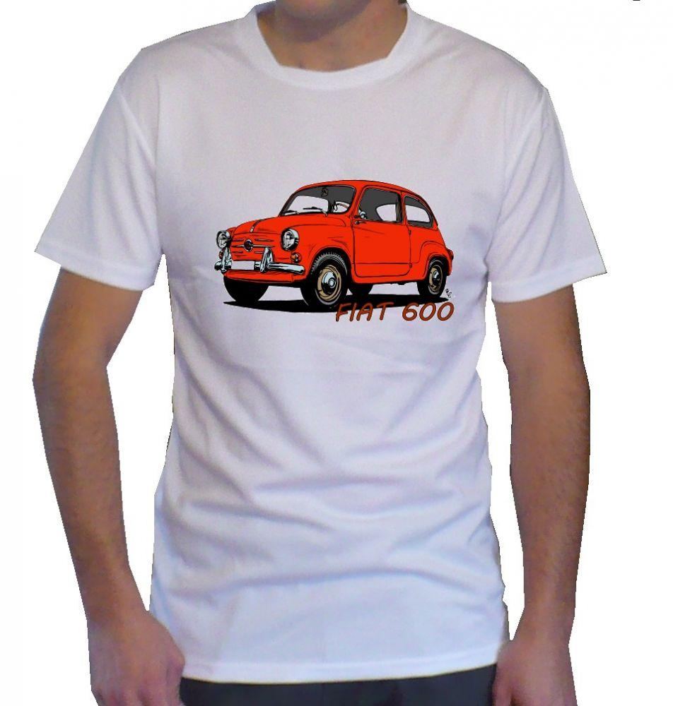 Triko s motivem Fiat 600