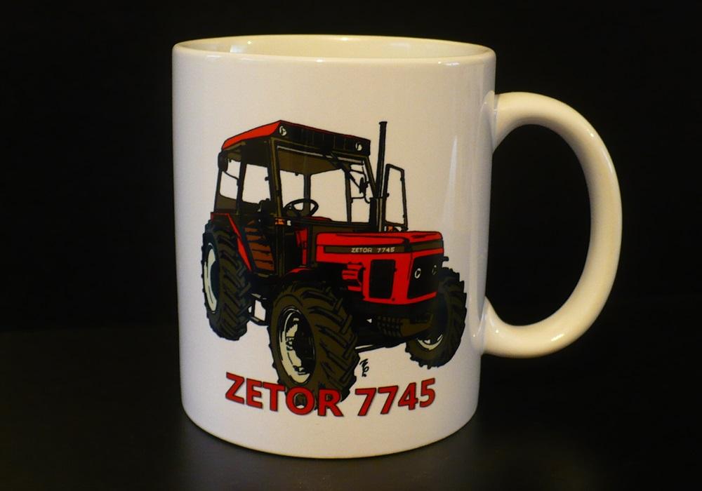 Hrnek s motivem Zetor 7745