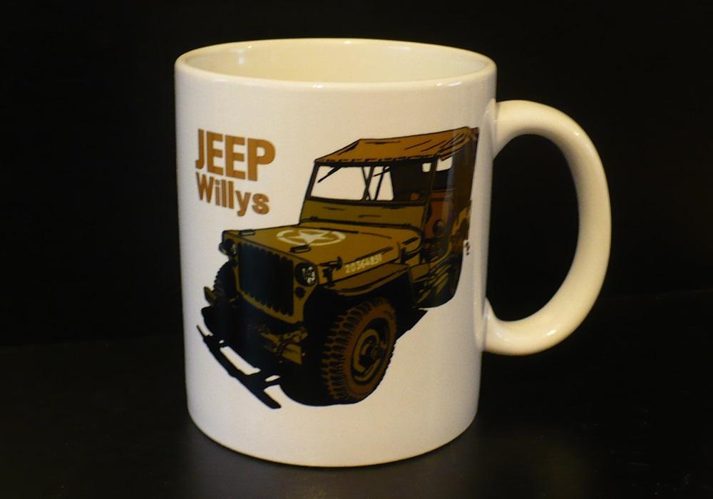Hrnek s motivem Jeep Willys