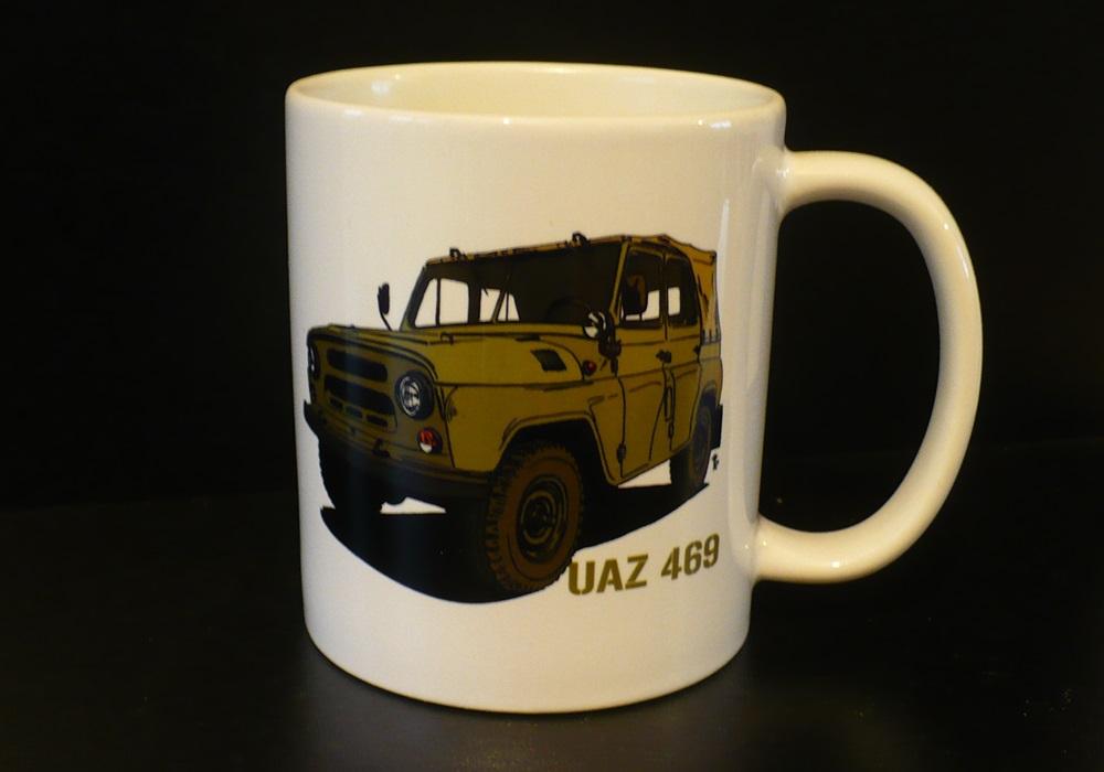 Hrnek s motivem UAZ 469