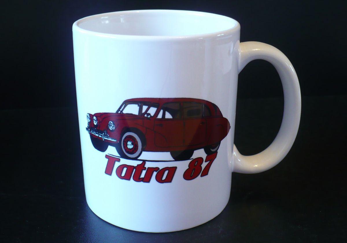 Hrnek s motivem Tatra 87