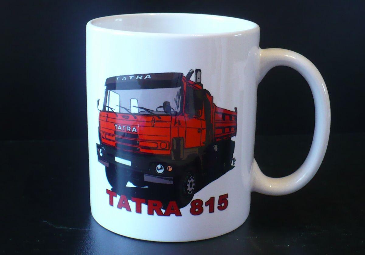Hrnek s motivem Tatra 815