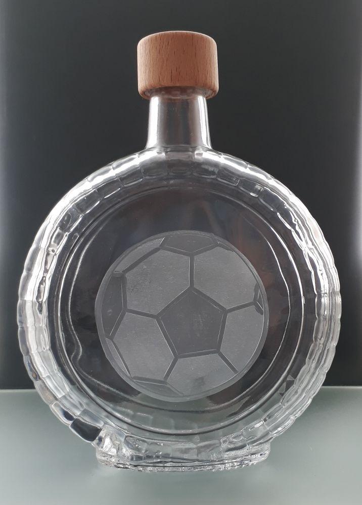 lahev 0,7l s fotbalovým míčem , dárek pro fotbalistu