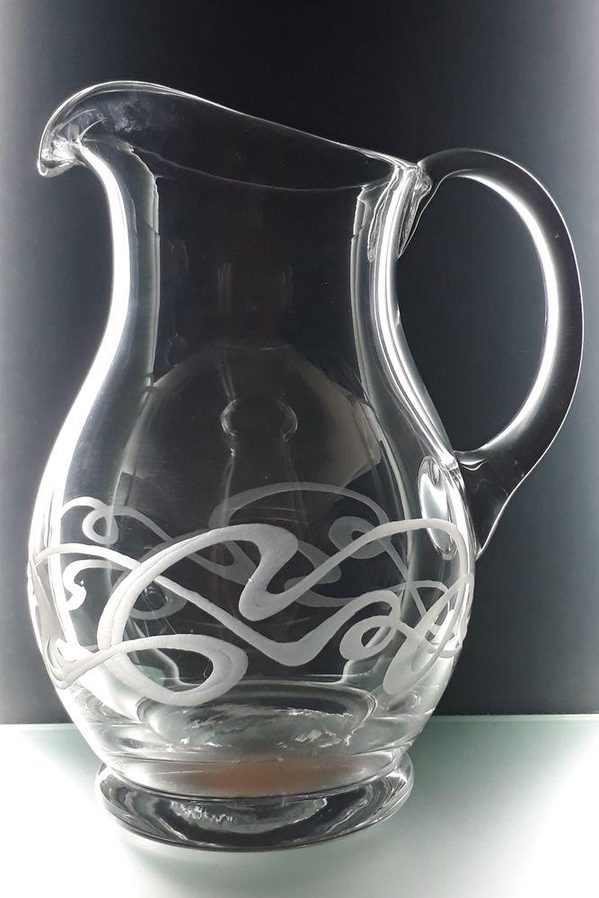 džbán na víno 1250ml se secesním dekorem, luxusní dárek pro muže i ženu