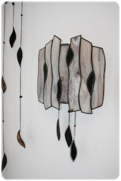 tiffany nástěnná lampa, oblá