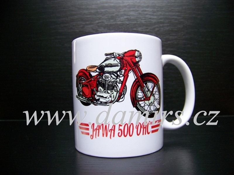 Hrnek s motivem Jawa 500 OHC