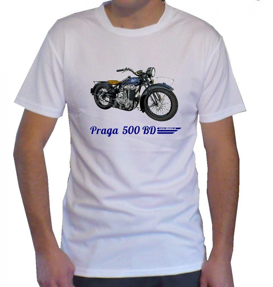 Triko s motivem Praga 500 BD