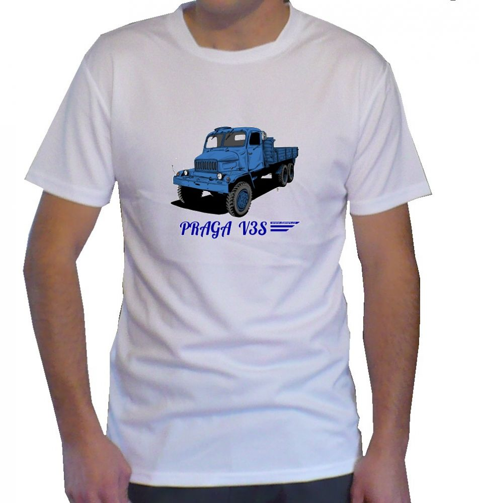 Triko s motivem Praga V3S