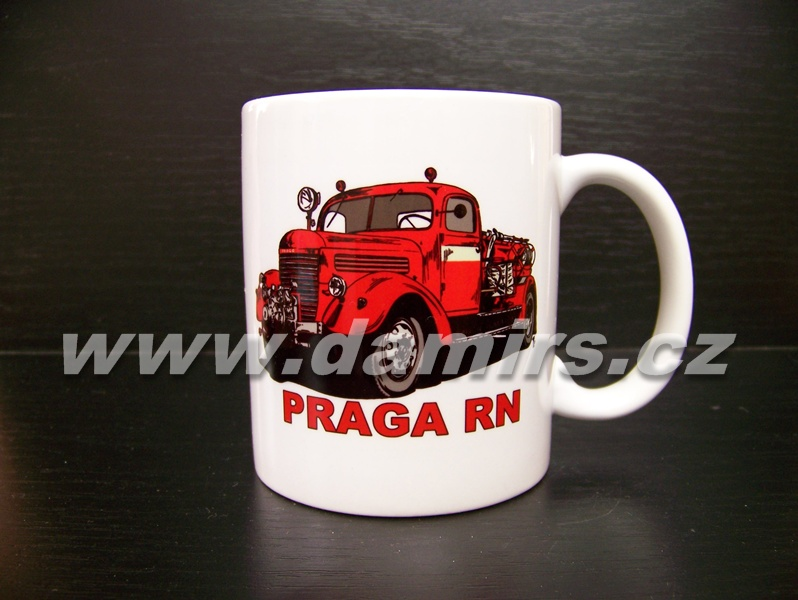 hrnek s motivem hasičská Praga RN cisterna