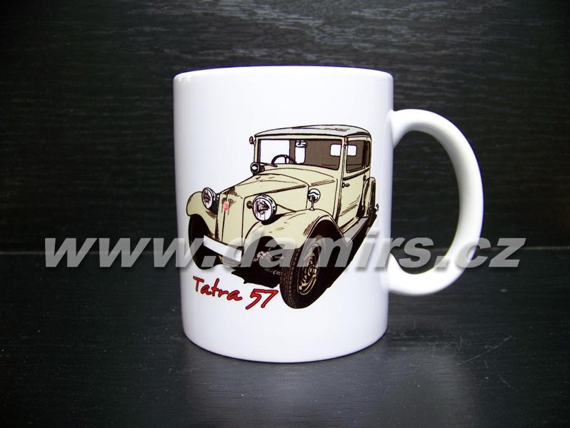 hrnek s motivem Tatra 57