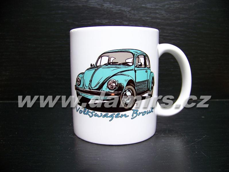 hrnek s motivem Volkswagen Brouk