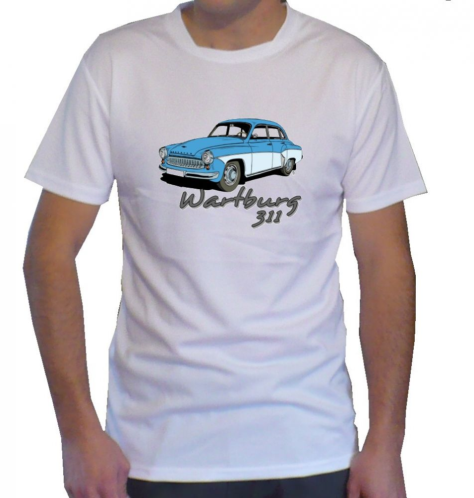 Triko s motivem Wartburg 311